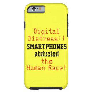 Cita chistosa de la desolación de Digitaces Funda Para iPhone 6 Tough