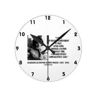 Cita comparativamente sana de Jacoba Kennedy Reloj Redondo Mediano