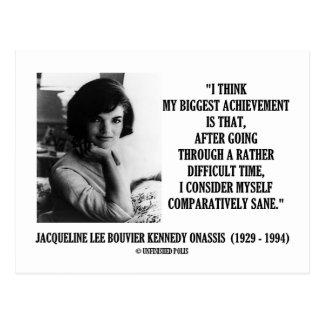 Cita comparativamente sana de Jacoba Kennedy Tarjetas Postales
