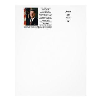 Cita con esperanza Reagan del último del destino l Membrete Personalizado