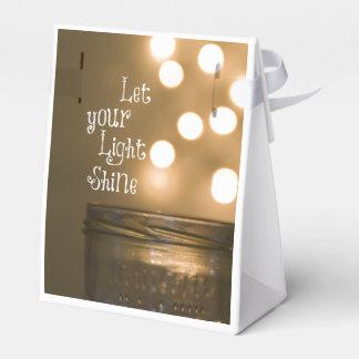 Cita cristiana del verso inspirado de la biblia caja para regalo de boda