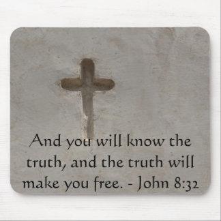 Cita cristiana inspirada - 8:32 de Juan Mousepad