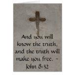 Cita cristiana inspirada - 8:32 de Juan Felicitación