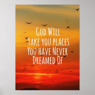 Cita cristiana inspirada Dios lo va a hacer