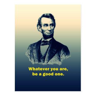 Cita de Abraham Lincoln Postales