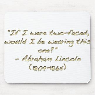 Cita de Abraham Lincoln Tapete De Raton