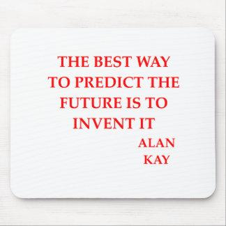 cita de Alan Kay Alfombrilla De Ratón