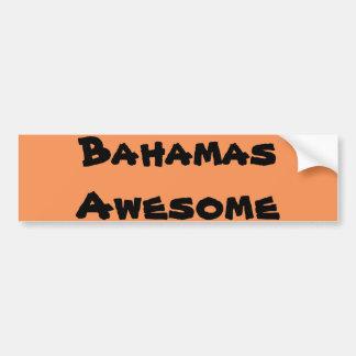 Cita de Bahamas Pegatina Para Auto