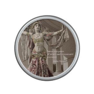Cita de Bellydance del vintage de Mata Hari Altavoz