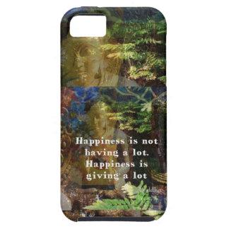 Cita de BUDA sobre felicidad iPhone 5 Carcasas