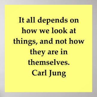 cita de Carl Jung Impresiones