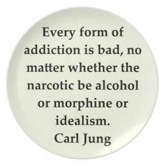 cita de Carl Jung Platos De Comidas