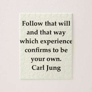 cita de Carl Jung Puzzles