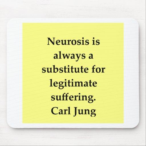 cita de Carl Jung Tapete De Ratones