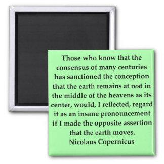 cita de copernicus imán para frigorifico