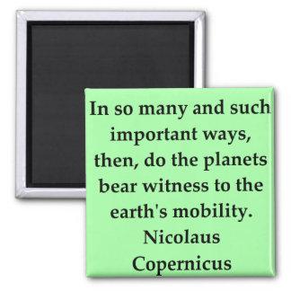 cita de copernicus imanes