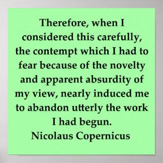 cita de copernicus impresiones