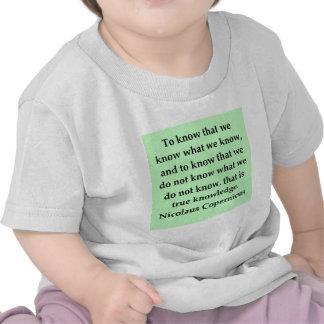cita de copernicus camiseta