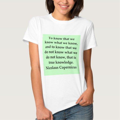 cita de copernicus t-shirt