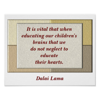 Cita de Dalai Lama - poster Póster