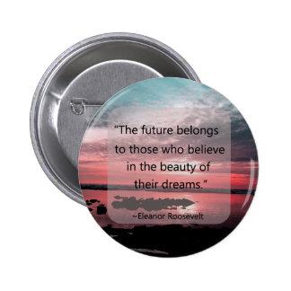 Cita de Eleanor Roosevelt Pins