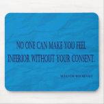 Cita de Eleanor Roosevelt Tapete De Raton