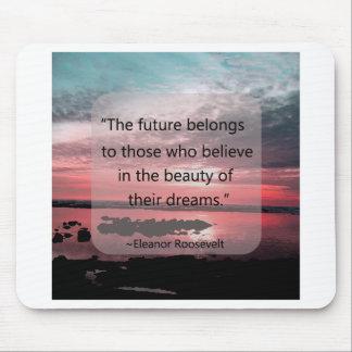 Cita de Eleanor Roosevelt Tapete De Ratón