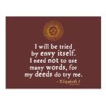 Cita de Elizabeth I sobre el juicio Postal