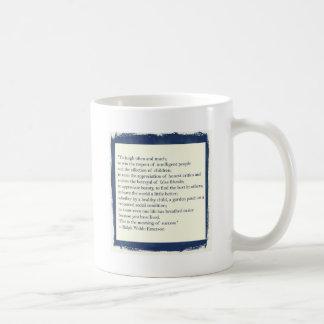 Cita de Emerson Taza De Café