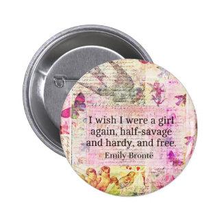 Cita de Emily Bronte sobre la libertad Pins