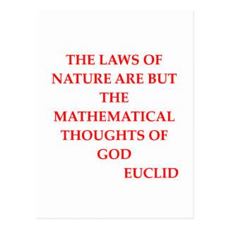 Cita de EUCLID Postal