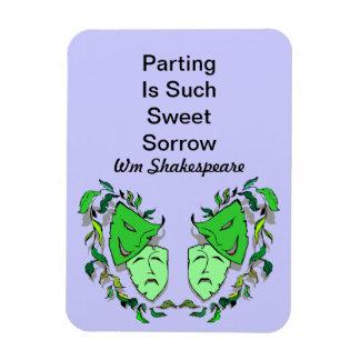Cita de Fav William Shakespeare de los artes del Imán Flexible