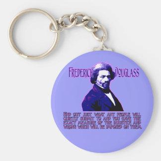 Cita de Frederick Douglass La medida de injustici Llaveros Personalizados