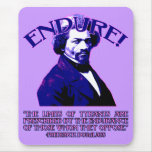Cita de Frederick Douglass: Los límites de tiranos Alfombrillas De Ratón