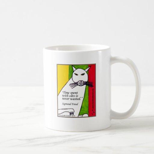 Cita de Freud Taza De Café