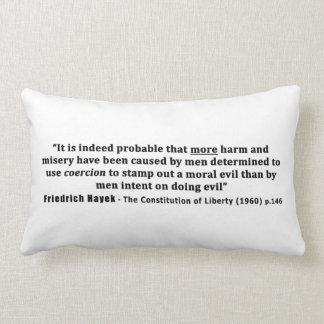Cita de Friedrich Hayek más daño hecho por la coer