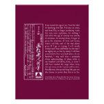 Cita de Gakyo Rojin Manji Membretes Personalizados