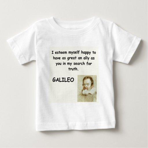 cita de galileo camisas