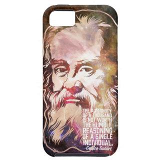 Cita de Galileo Galilei iPhone 5 Carcasa