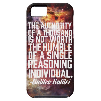 Cita de Galileo Galilei iPhone 5 Fundas