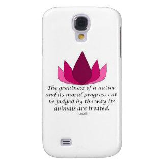 Cita de Gandhi Samsung Galaxy S4 Cover