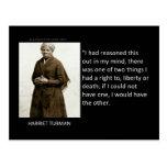 Cita de Harriet Tubman Postal