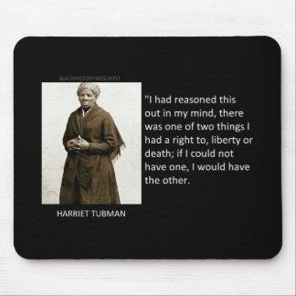 Cita de Harriet Tubman Alfombrilla De Raton