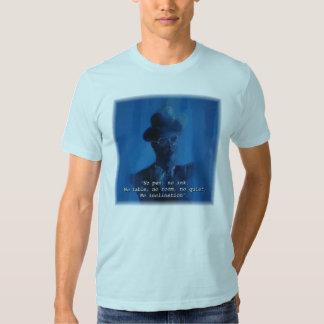"Cita de James Joyce ""ninguna pluma, camiseta de Polera"