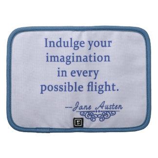 Cita de Jane Austen en la imaginación Organizadores