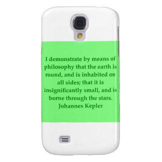 Cita de Johannes Kepler Funda Para Galaxy S4