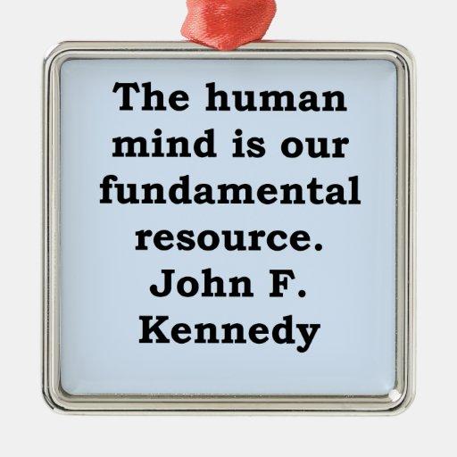 cita de John F. Kennedy Adorno De Reyes