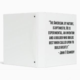 "Cita de John F. Kennedy Carpeta 1"""