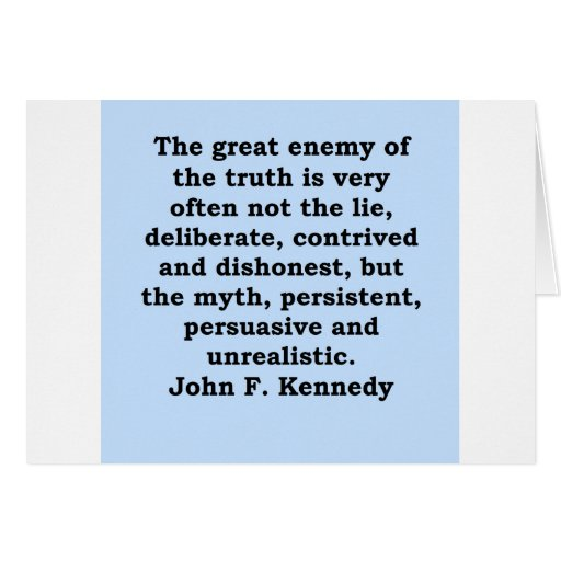 cita de John F. Kennedy Felicitacion