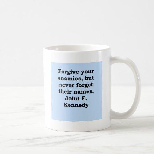 cita de John F. Kennedy Taza